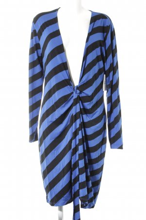 Conleys Wraparound blue-black striped pattern simple style