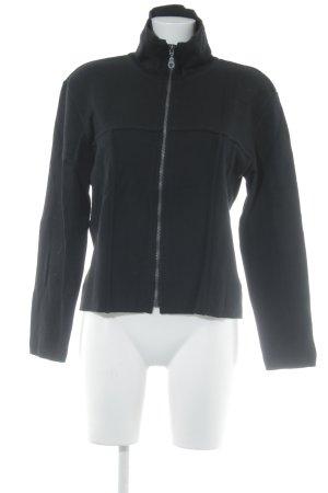 Connemara Cardigan schwarz Street-Fashion-Look