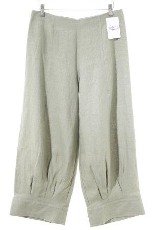 Consequent Pantalón de lino caqui elegante