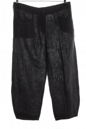 Consequent Jersey Pants black casual look