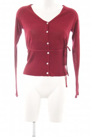 Consequent Cardigan red casual look