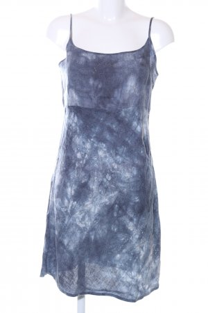 Consequent Pinafore dress blue-white color gradient simple style