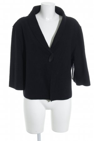 Consequent Wool Jacket black simple style