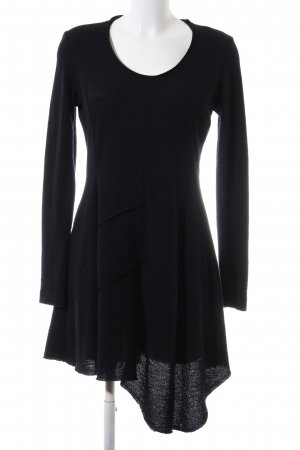 Consequent Woolen Dress black casual look