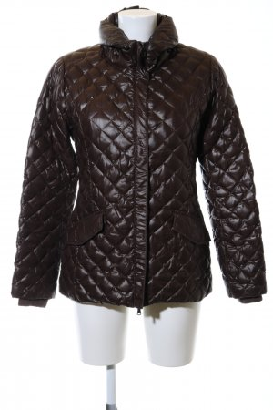 Conte of Florence Down Jacket black quilting pattern casual look