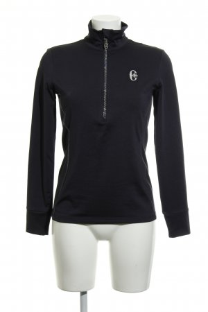 Conte of Florence Sports Shirt dark blue-silver-colored casual look