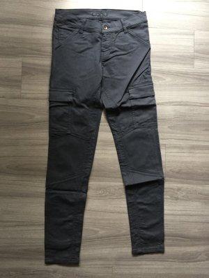 Conu Hüfthose blau Taschen W27/32 Größe 36