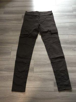 Conu Hüfthose braun Taschen W27/32 Größe 36