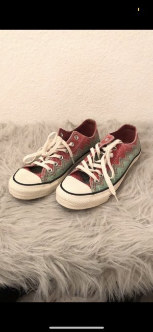Converse Lace Shoes red-mint