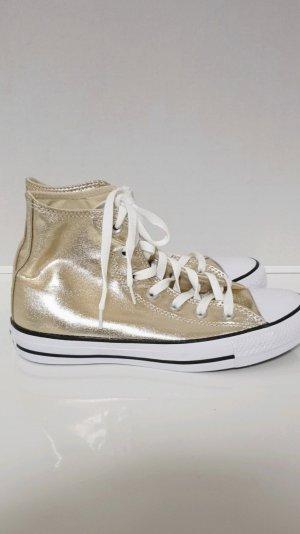 Converse Zapatillas altas blanco-color oro