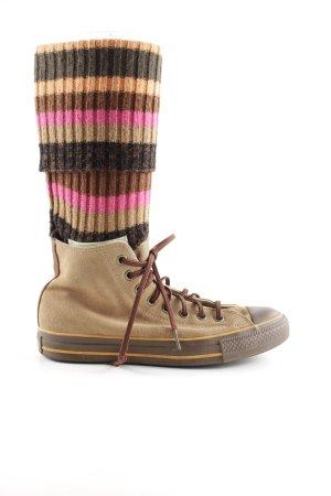 Converse Absatz Sneaker Streifenmuster Casual-Look