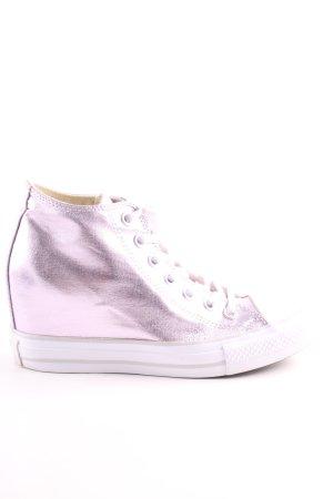 Converse Absatz Sneaker pink Casual-Look