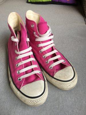 Converse High top sneaker framboosrood