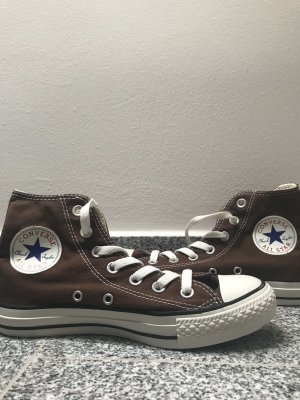 Converse all star braun
