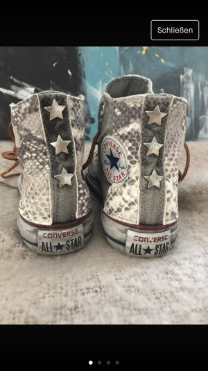 Converse All Star Chuck animal print snake