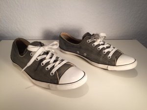 Converse All Star Chucks flach Gr.37,5 grün-grau