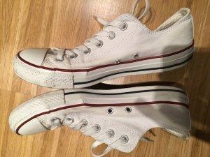 """Converse All Star """"chucks"""" in weiß, gebraucht gebraucht kaufen  Wird an jeden Ort in Österreich"""
