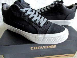 CONVERSE ALL STAR CHUCKS SNEAKER, MODELL: ASYLUM OX BLACK