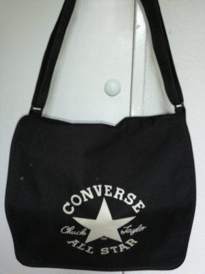 Converse Borsa college nero-bianco Poliuretano