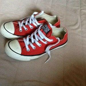 Converse All Star Gr. 4 / 36,5 gebraucht rot Sneaker