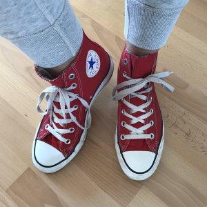 Converse Zapatillas altas rojo
