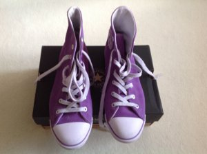 Converse High top sneaker lila Suede