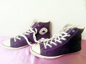 Converse All Star Light Hi Chucks lila Gr 39/40