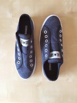 Converse ALL STAR Schlüpf-CHUCKS blau, Gr. 38,5 - kaum getragen