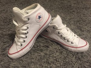 Converse All Star white leather