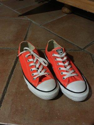 Converse Sneakers neon orange