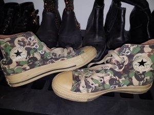 Converse All Stars Tarn Neu Camouflage 1x getragen