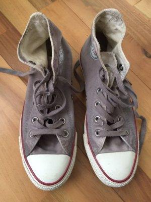 Converse Sneakers beige-camel cotton