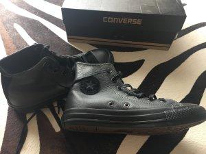 Converse Chuck tailor all star 36 Leder schwarz neu in ovp