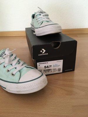 Slip-on Sneakers light blue-turquoise