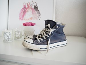 Converse Chuck Taylor All Star Hi Sneaker Blau | Gr. 40