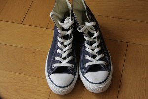 Converse Chuck Taylor All Star Hi Sneakers navy