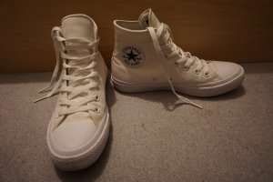 Converse Sneaker stringata bianco