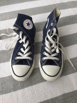 Converse Chuck Taylor All Star in blau/navy, Gr. 36,5, einmal getragen!
