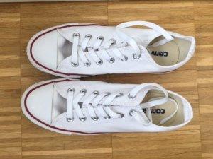Converse Chuck Taylor All Star Sneaker Chucks low white - WIE NEU -