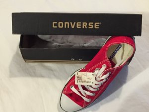 Converse CHUCK TAYLOR ALL STAR - Sneakerlow - red *NEU und UNGETRAGEN*