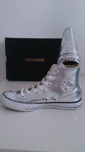 Converse Chuck Taylor Chrome HI-Silver/White