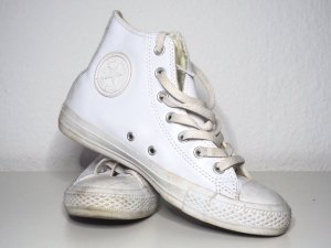 Converse Chuck Taylor Leather Hi weiß