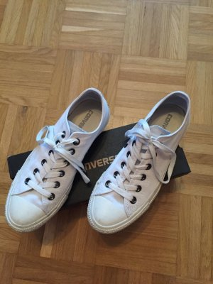 Converse Chuck Taylor low weiss