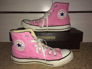 Converse Chucks All Star high Rosa