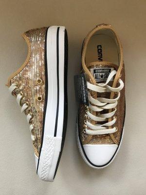 Converse Chucks All Star Pailletten Gold