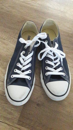 Converse Chucks Chuck Taylor Blau Duneklblau Canvas Schuhe Schnürschuhe Sneaker