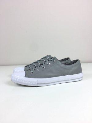 Converse Chucks Echt Leder Sneaker Turnschuhe Halbschuhe Gr. 40 grau