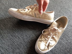 Converse Slip-on Sneakers gold-colored
