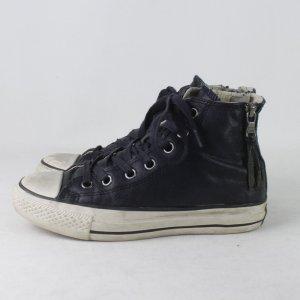 Converse Zapatillas altas azul oscuro Cuero