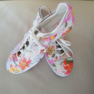 Converse Chucks, Gr. 38, Sneaker, Blumenmuster, Leder